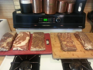 Cured slabs