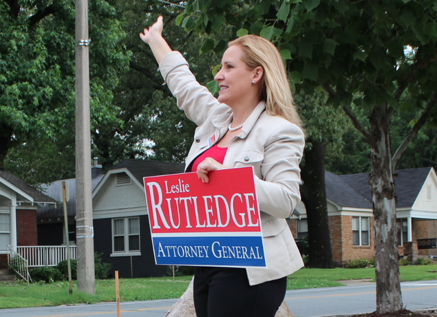Leslie Rutledge Is A Victim (Of Her Own Lack Of Judgment)
