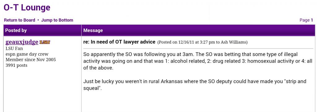 Arkansas Squeal